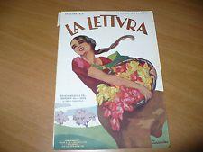RIVISTA LA LETTURA N.5 1930 SOMMARIO IN FOTO MERCATI TRAIANEI MASSAUA AGORDAT  Negozio: OLD&NEW DREAMS ID utente del venditore: 2010montresor Feedback: 100% positivo, 3.927 recensioni