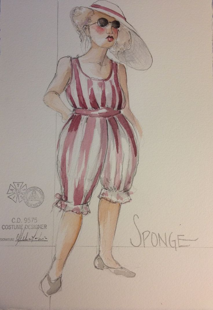 James and the Giant Peach (Sponge). Costume design by Melissa Torchia.