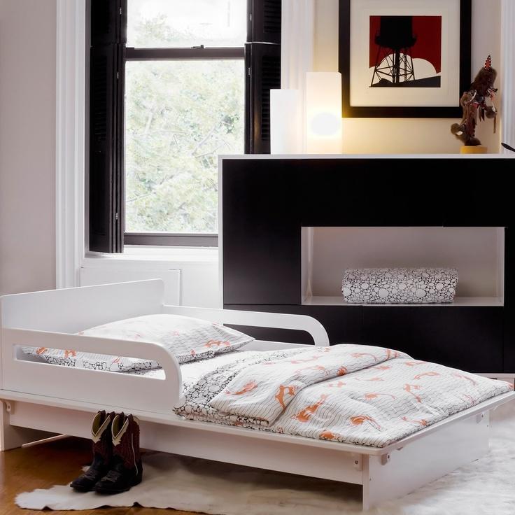 Argington Petra White Toddler Bed Laylagrayce