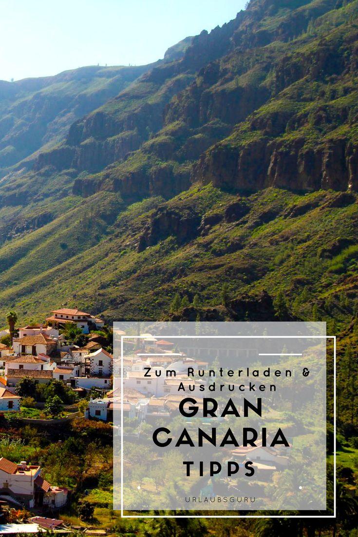 Sie ist die drittgrößte der Kanarischen Inseln und weiß mit Vielseitigkeit und landschaftlicher Schönheit zu überzeugen: Gran Canaria. Was ihr auf der Insel erleben könnt und wo sich die schönsten Strände befinden, erfahrt ihr in meinen ausführlichen Garn Canaria Tipps. Hier lest ihr alles über Maspalomas, Las Palmas, Mogán und den Playa del Ingles. Meine Tipps gibt es zum Abspeichern, so habt ihr euren Gran Canaria Reiseführer immer dabei. #grancanaria #kanaren #spain