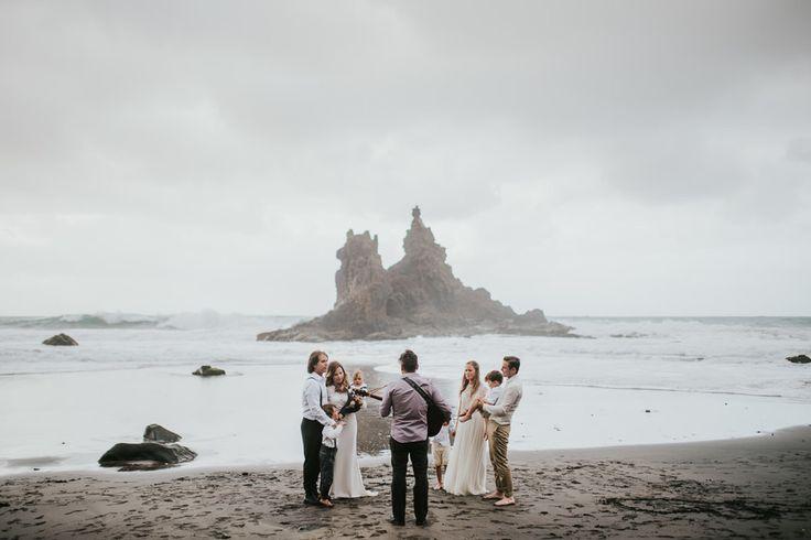 elopement  Wedding Beach