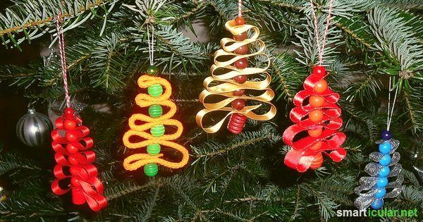 DIY-Weihnachtsschmuck+aus+Naturmaterialien,+Papier+und+anderen+preisgünstigen+Alternativen.+