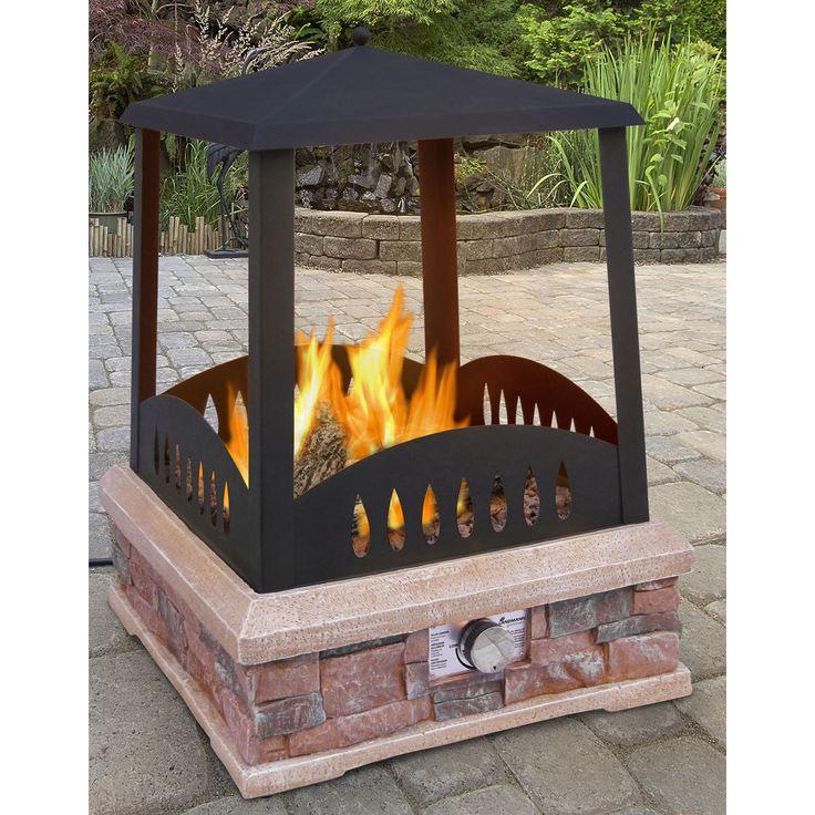 The 25+ best Outdoor gas fireplace ideas on Pinterest | Diy gas ...