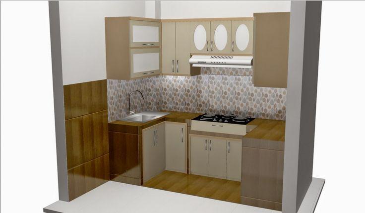 desain dapur dan meja makan