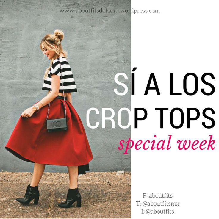 3 razones para decir sí a los crop tops | Fashion & Style Blog | aboutfits crop tops, ootd, trendy, estilo, ideas