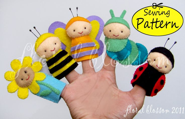 Monsters Puppets Felt Patterns Free | Free puppet patterns, free crochet toy patterns, free toy knitting