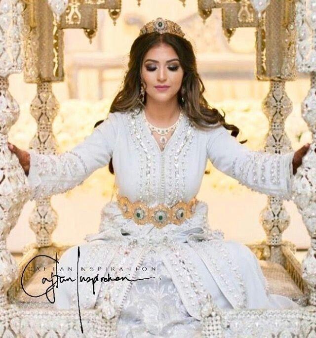 Moroccan Bride Moroccan Caftan Moroccan wedding Mashaa'ALLAH