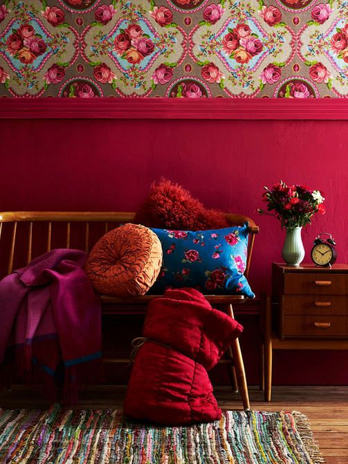Eijffinger Singing Roses wallpaper