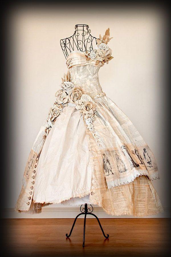 Glamurosos diseños para amantes de la literatura. Para vestir literalmente.