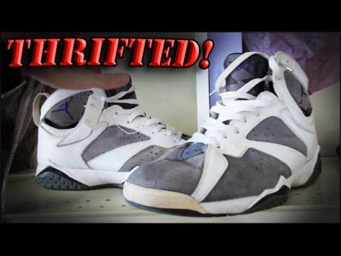 Trip to the Thrift Jordan 7's, AF1 Olympics, Jeters, and Hurraches! Huge