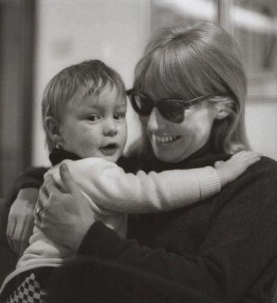 Julian Lennon and Cynthia Powell-Lennon