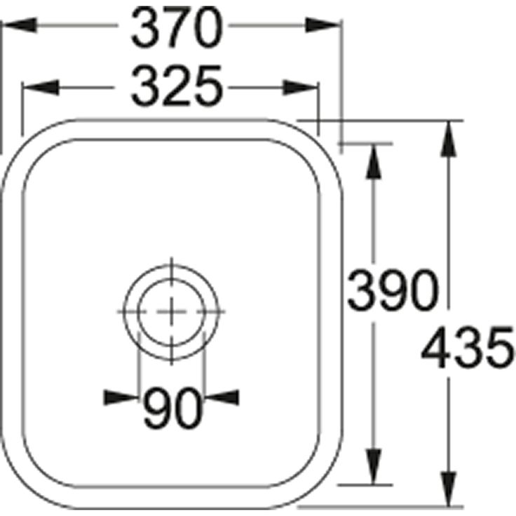 VBK | VBK 110-33 | Ceramic White  | Sinks