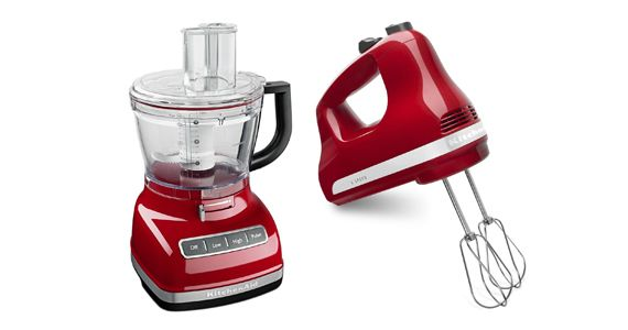 Win a KitchenAid Hand Mixer & Food Processor