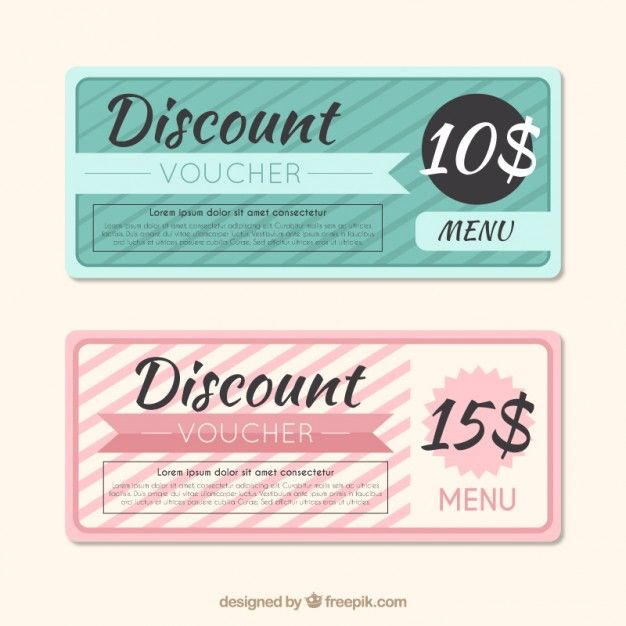 The 25+ best Discount vouchers ideas on Pinterest Promotional - how to make vouchers