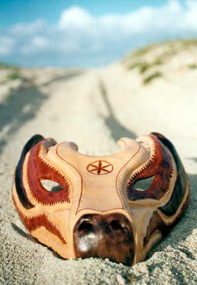 Leather Masks of Graziano Viale - Sardinia