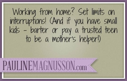 Working from home with kids tips.  Work at home mom tips.  Stay at home mom sanity tips.  SAHM wisdom