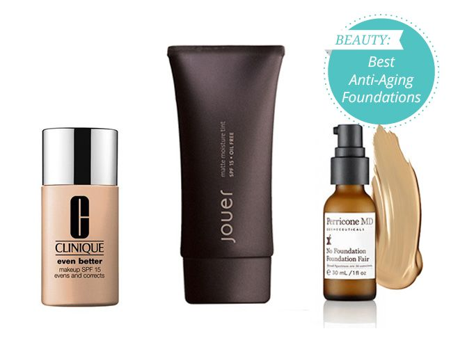 Here are the best foundations to hide wrinkles & pores on the market. Be sure to look for these ingredients when you're shopping for an anti-aging foundation: