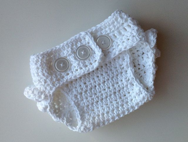 Crochet Pattern for Ruffle Bum Baby Diaper Cover - 3 sizes ...