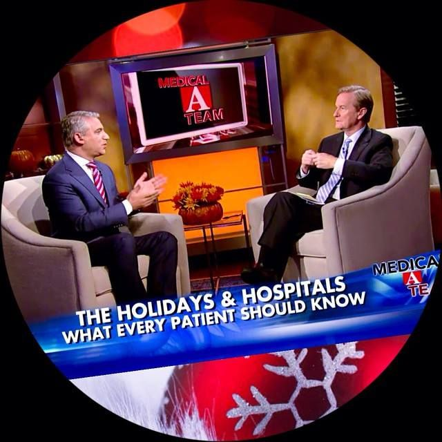 "The #Holidays & Hospitals: What Every Patient Should Know.  Watch my report with Steve Doocy here: http://video.foxnews.com/v/3921075065001/should-you-avoid-the-hospital-during-the-holidays/#sp=show-clips   ""Like"" and Share!  #HealthTip #SamadiChallenge #TGIF — with Steve Doocy."