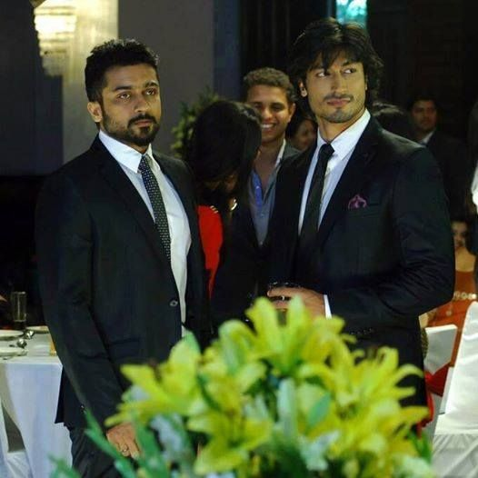 Vidyut Jamwal and Suriya in Anjaan