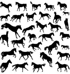 Vector image of Horse runs Vector Image, includes black, design, themes, outline & scene. Illustrator (.ai), EPS, PDF and JPG image formats.