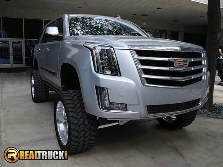 2015 Cadillac Escalade lifted | cool caddy's | Pinterest ...