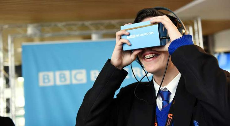 Young people from schools and colleges across the region visited us to sample the latest technology offered by the BBC.