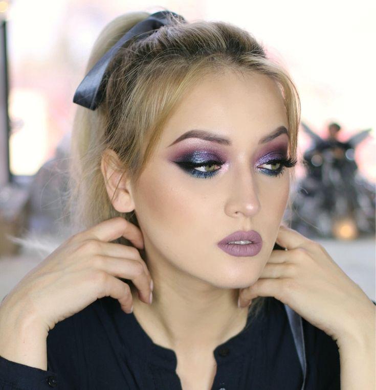 Machiaj_de_ Revelion_Special Koko_makeup_new_years_makeup_look_beauty_blogger_ponytail