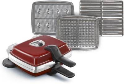 Appareil Croque / gaufre et gaufrette LAGRANGE Super 2 Gaufres+Croques+Gaufrettes rouge, sur boulanger.fr
