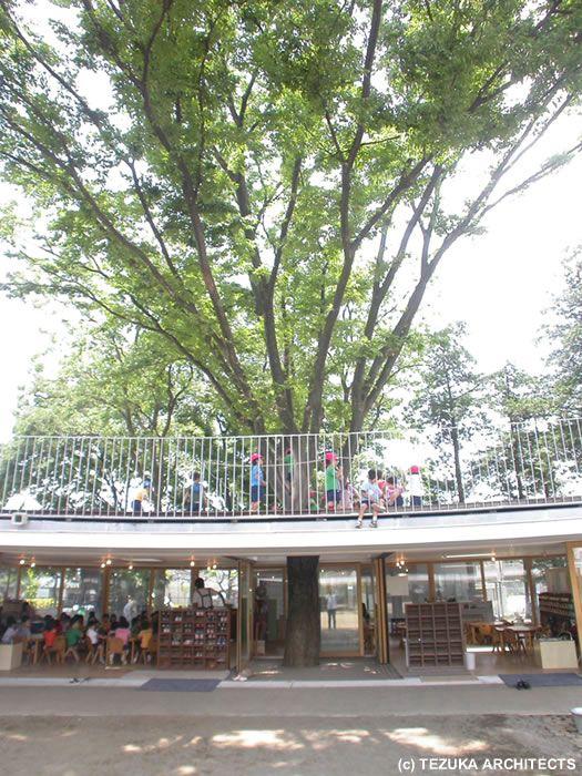 Fuji Kindergarten by Takaharu + Yui Tezuka | SpaceInvading