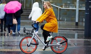Mobike struggles in Manchester, UK because people don't know how to share.