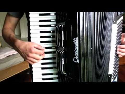 Godfather Waltz by Nino Rota - Tutorial on playing the song on accordion - YouTube