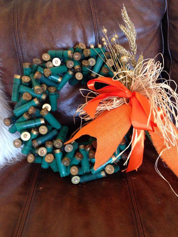 explain how to make a Shotgun Shell Wreath 3