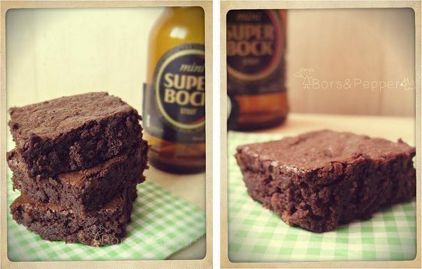Bors&Pepper: Barna sörös brownie