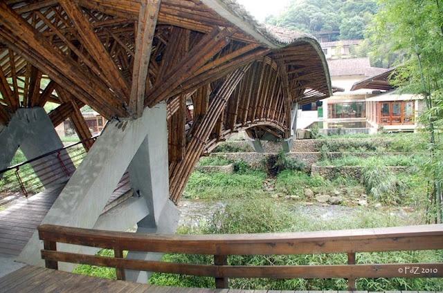 Bamboo bridge, Simon Velez