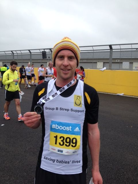 Many thanks and huge congratulations to James who completed the Silverstone Half Marathon in a PB time yesterday.  So far James has managed to raise over £500 for GBSS and raised lots of awareness #GBSaware