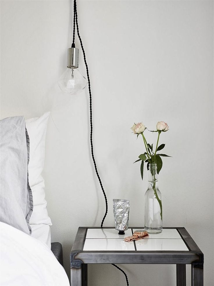 Lol l'ampoule / my scandinavian home: A pretty Gothenburg apartment with a fab work space
