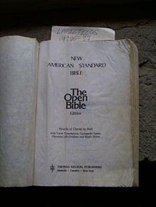 New American Standard Bible - Wikipedia