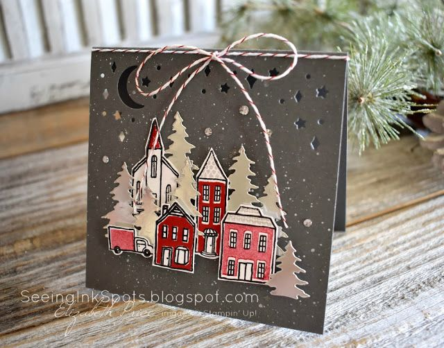 Seeing Ink Spots: Holiday Inspiration #278