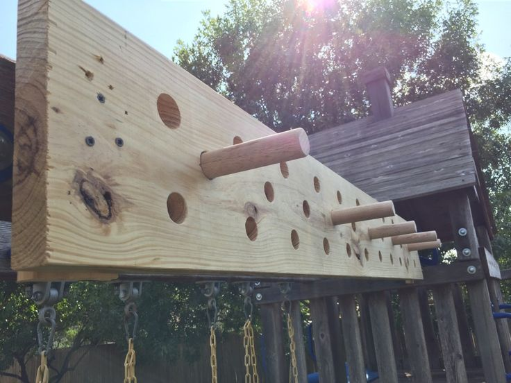 DIY pegboard (like American Ninja Warrior)