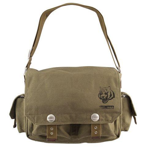 Cincinnati Bengals NFL Prospect Deluxe Messenger Bag