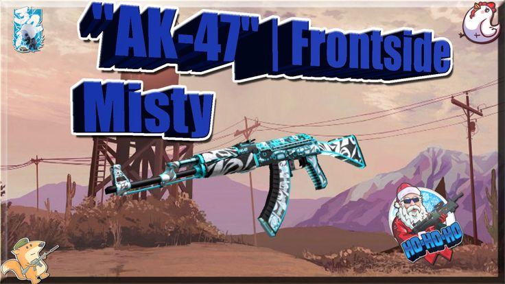 "TOP 5-Sticker Combinations: ""AK-47""   Frontside Misty (Снежный вихрь)"