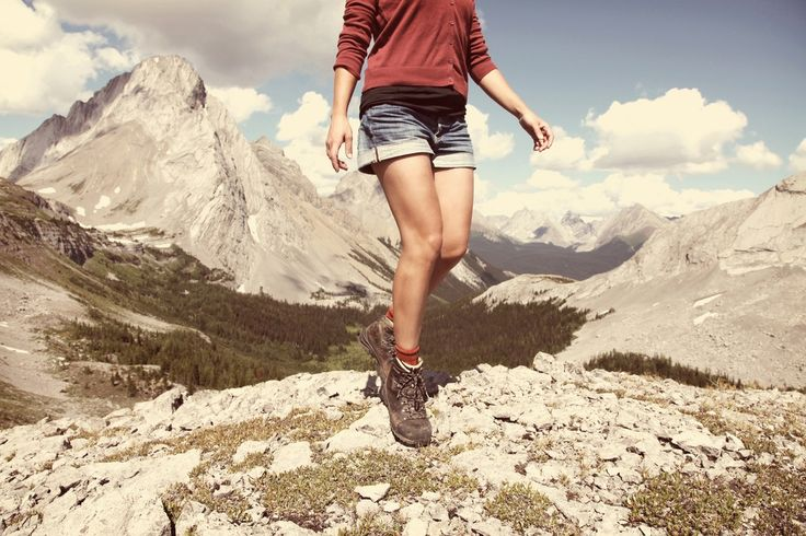 No better feeling than being on a mountain top on a sunny day.