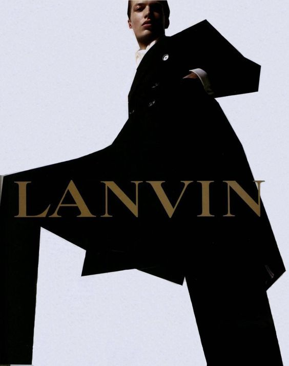 michael gandolfi by steven meisel for lanvin menswear fall 2002 campaign.: