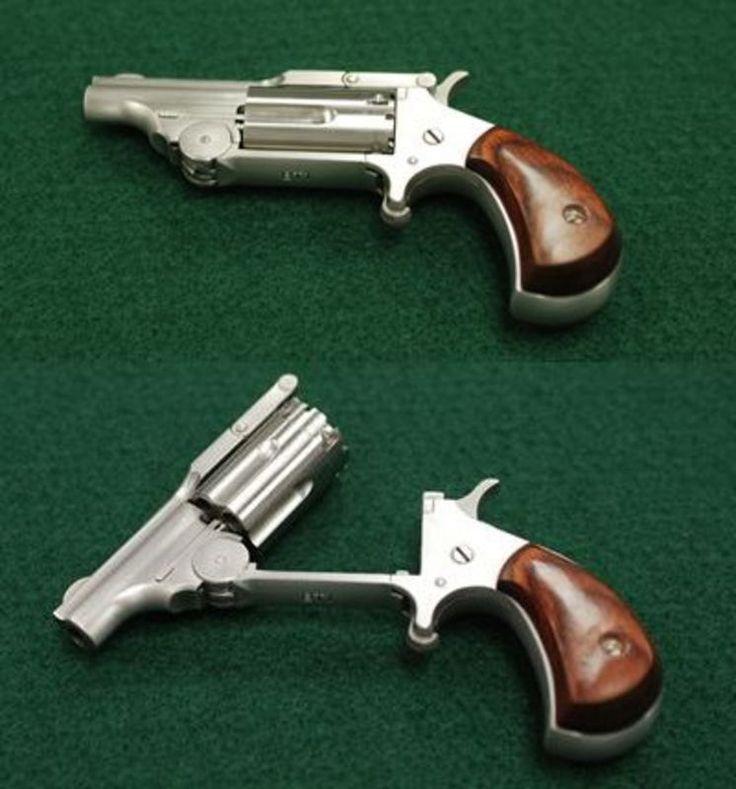 North American Arms Ranger, top break, 22 magnum caliber, 5 shot, 1 5/8 in. barrel    oooh. I EFFING WANT!!!