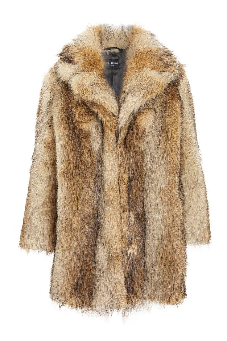 Ultimate Vintage Faux Fur Coat