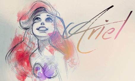 Ariel - disney-princess Fan Art