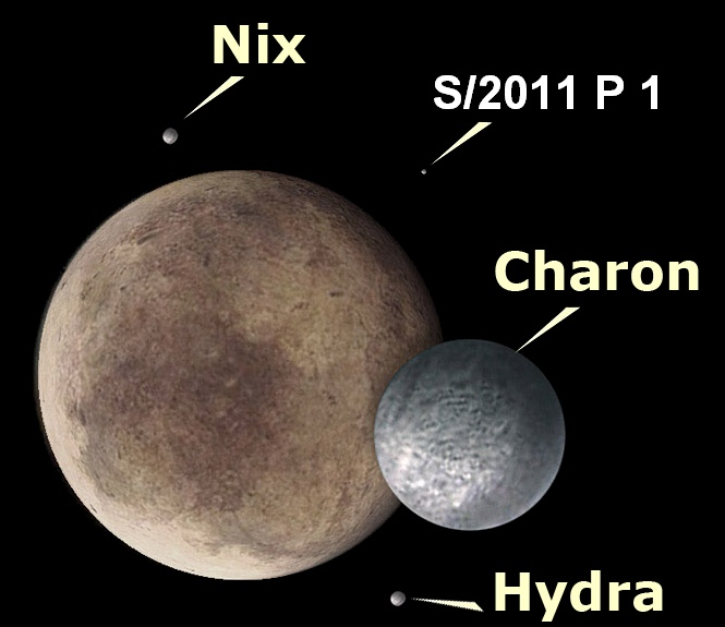 Hydra Moon: 10 Best Moons Of Pluto Images On Pinterest
