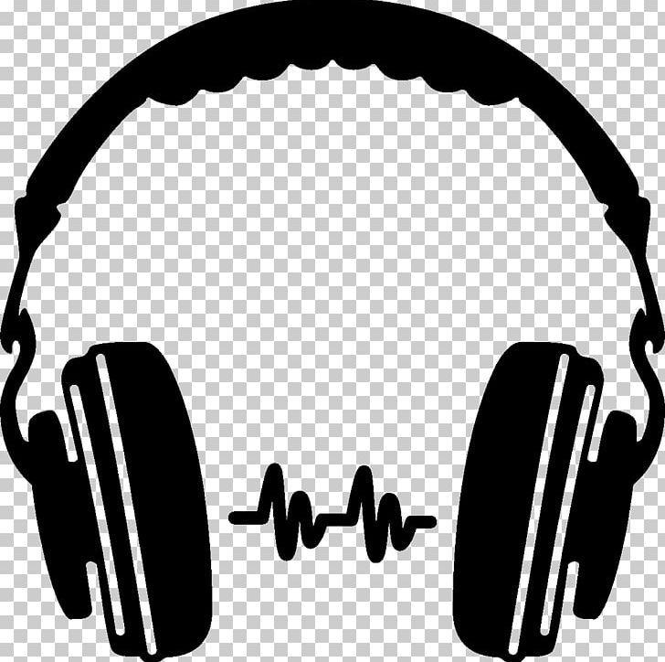 Headphones Silhouette Icon Png Audio Audio Equipment Autocad Dxf Beats Electronics Black And White Music Logo Design Music Logo Music Silhouette