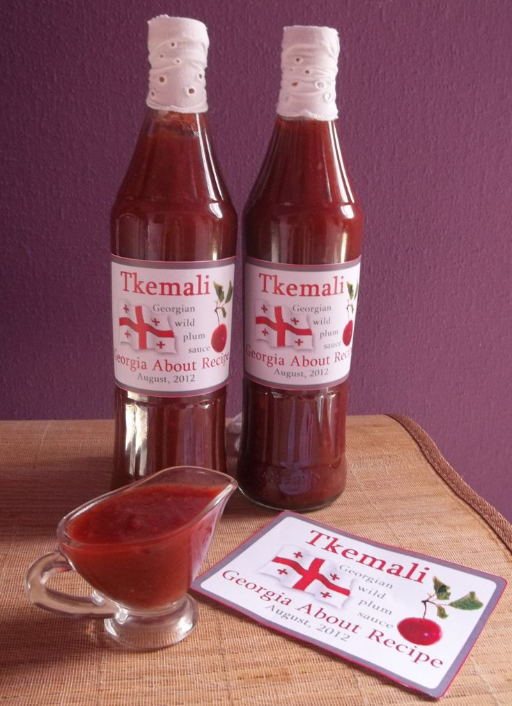 Tkemali (Georgian ტყემალი) is the Georgian name for a variety of wild, sour plum, as well as a sauce made from the plums. Tkemali sauce is used for fried or grilled meat, poultry and potato dishes,…